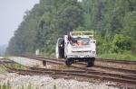 CSX HI rail crew looking for heat kinks
