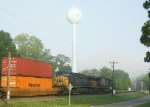 Rare Q101 going by the recently repainted water tower