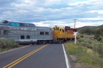 SFSO 93 crosses NM 33 heading into Lamy