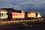 SFSO 93 switching the Dinner Train, TStorms loom