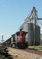 Northbound UP Empty Coal Train DPU