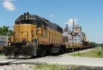 Southbound MNA Work Train