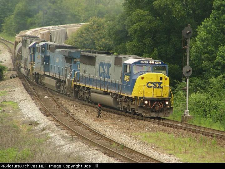 CSX 8783 (CSX Q647-24)