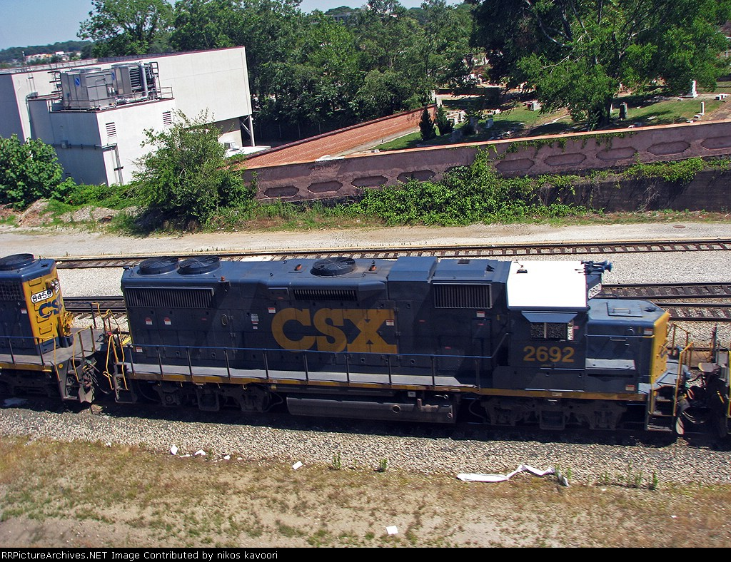 CSX 2692 at Hulsey yard
