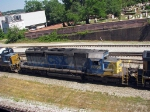 CSX 8096 in YN2 paint at Hulsey yard
