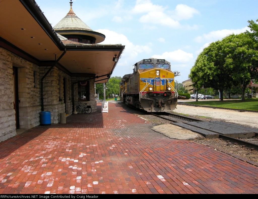 West bound coal train