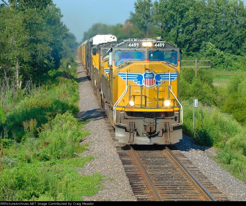 A Fleet of Northbound trains
