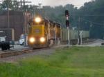 Rock train heads up the Desoto sub