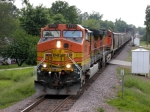 BNSF 4720 with a grain train