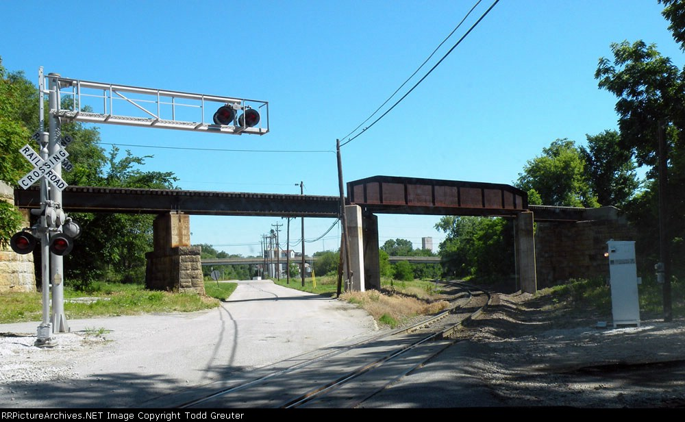 Old BN Bridge over the Old MP line