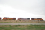 BNSF 5211, BNSF 5174, and unknown