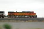 BNSF 5174 at highway speed
