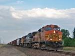 BNSF 4497 bearing down