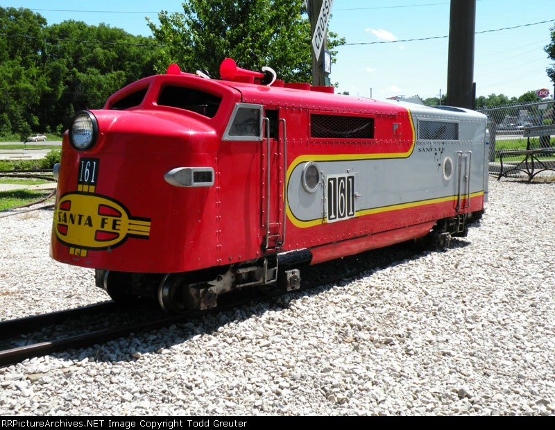 Atchison RR Museum Scale Loco