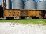 Outside Braced Wood Boxcar