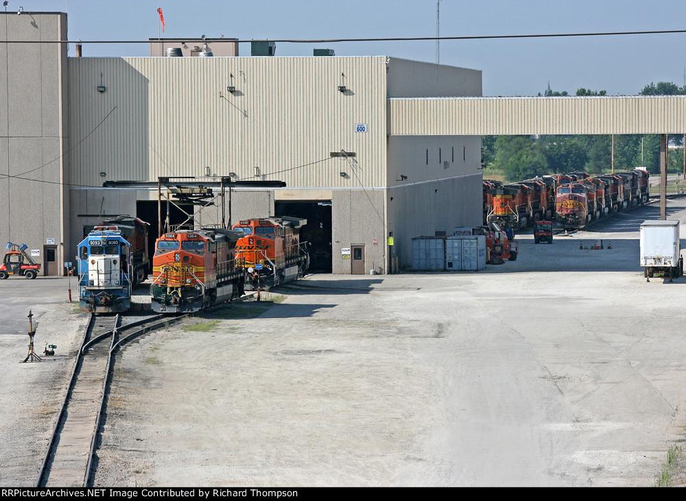 Galesburg Yard Engine Pit