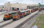 BNSF Galesburg Yard