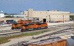 BNSF Galesburg Engine Pit