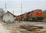 BNSF 6638 West
