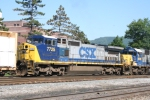 Front of CSX 7725