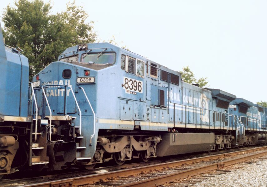 NS 8396 in a GE Consist