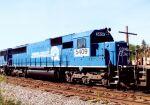 Ex-CR SD50 on a coal train