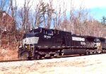 NS 9144 leads a coal train