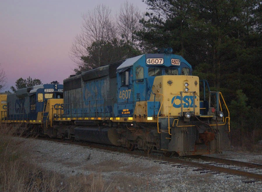 Antiques on the rock train at Lithonia
