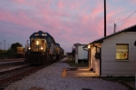 CSX 8093 twilight