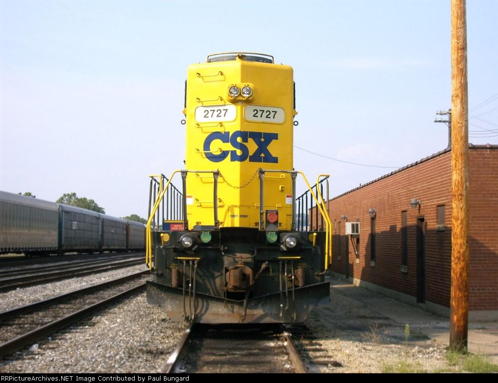CSXT 2727  GP38-2    08-20-2005
