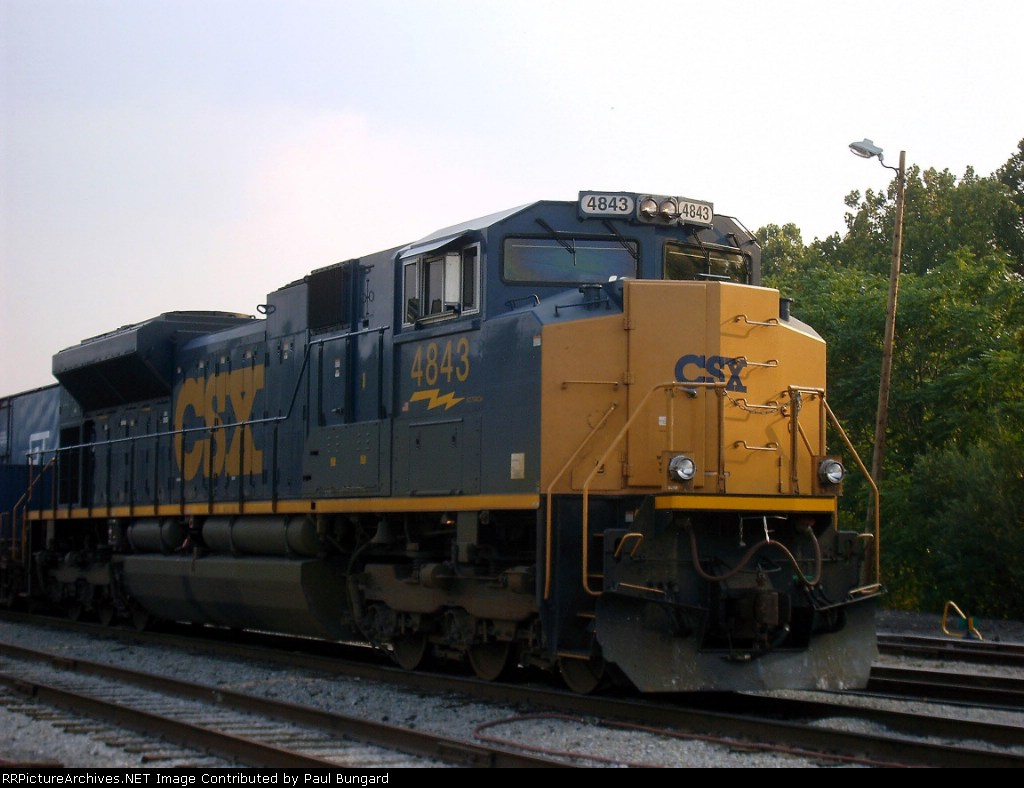 CSX 4843   SD70ACe   08/03/2005