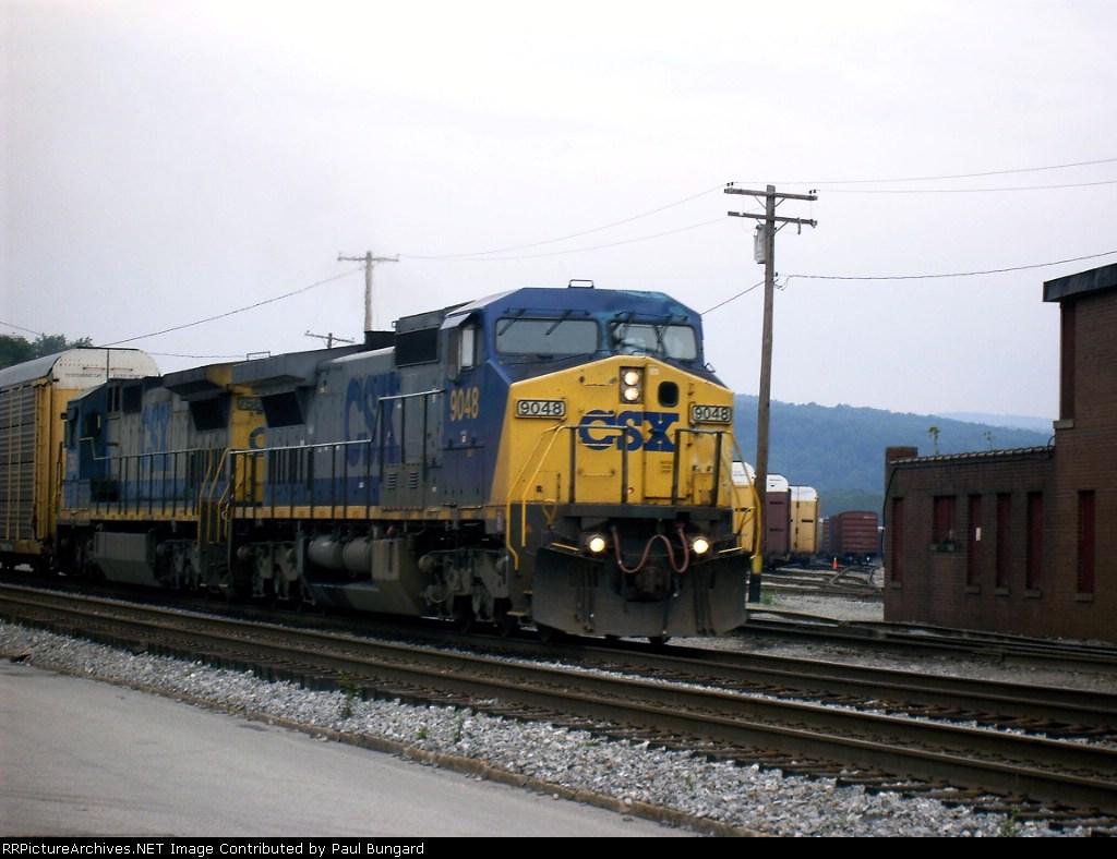 CSXT 9048   08-08-2005