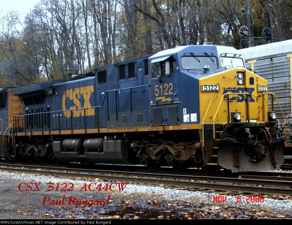 CSX 5122     AC44CW     11/06/2006