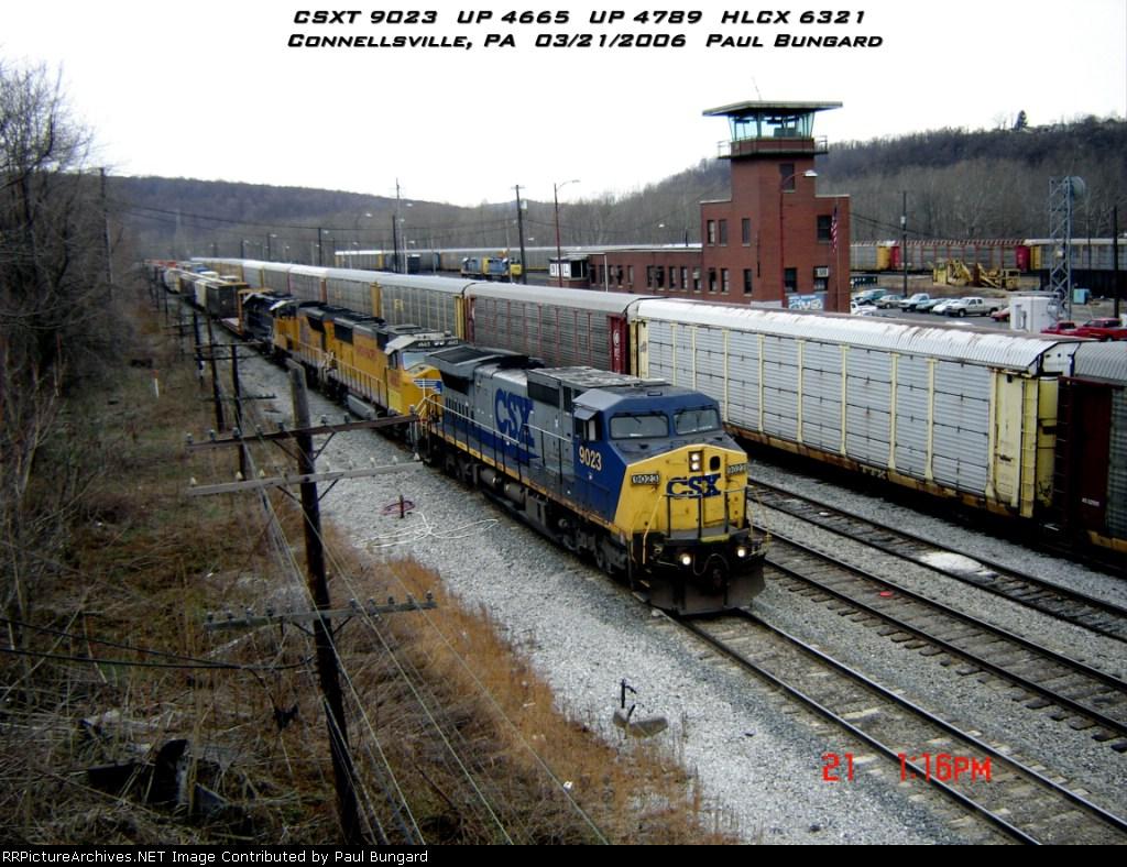 CSX 9023    C44-9W    03/21/2006