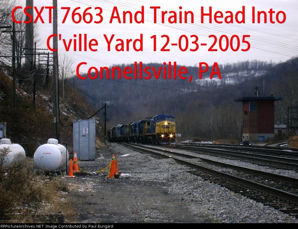 CSXT 7663   12-03-2005