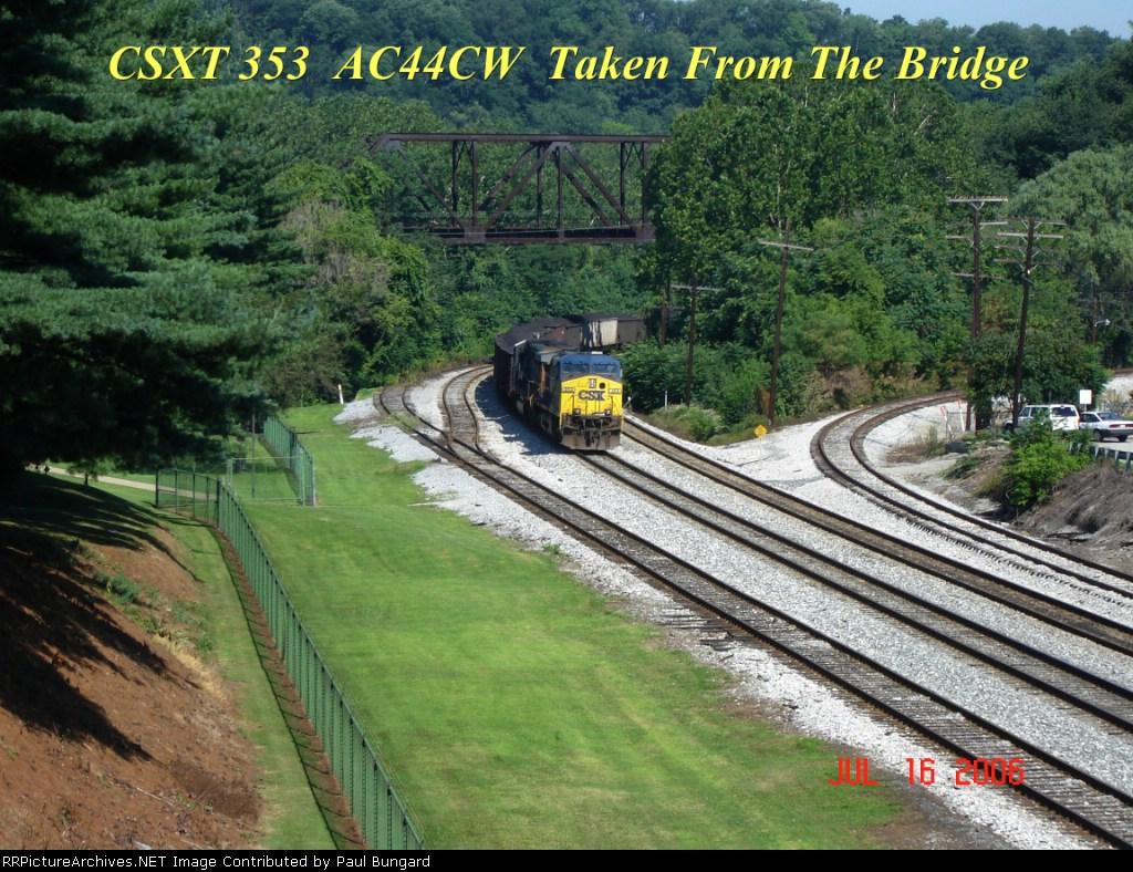 CSX 353   AC44CW