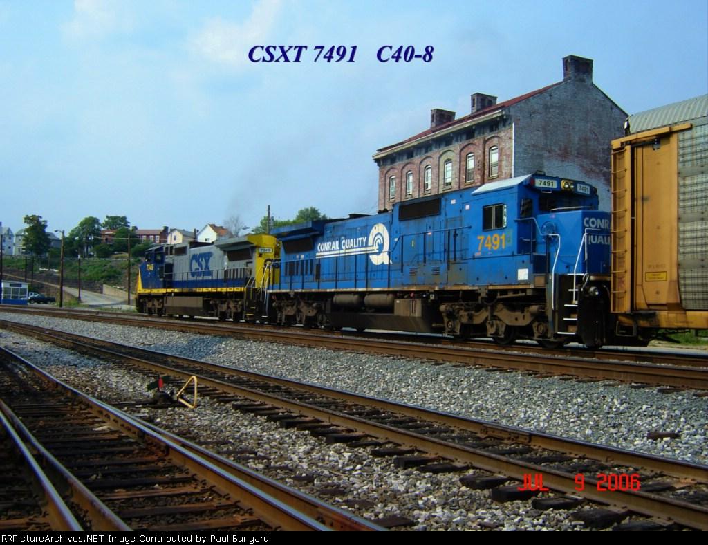 CSX 7491   07/09/2006