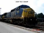 CSX 7812  C40-8W   07/20/2006