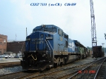 CSX 7331  (ex-CR)  C40-8W   07/20/2006