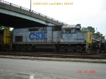 CSX 1513  ex-C&O   GP15T  07/22/2006