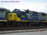 CSX 2802  ex-CR 8250  GP38-2  07/22/2006