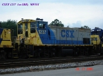 CSX 1237  ex-SBD  MP15T  07/22/2006