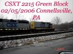 CSXT 2215  Ex-B&O 3510   Road Slug   02/05/2006