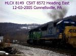 CSXT 8572   SD50   12-03-2005