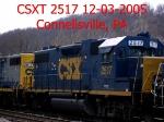 CSXT 2517  12-03-2005