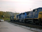 CSXT 7756 Along With 8 Other Units  08-29-2005
