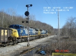 CSX 325  AC44CW  March 20, 2007