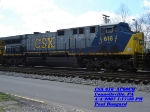 CSX 616  AC60CW  April 04, 2007