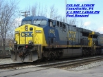 CSX 642  AC60CW  April 04, 2007