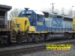 CSX 6464  Ex- L&N 6602  GP40-2  April 28, 2007